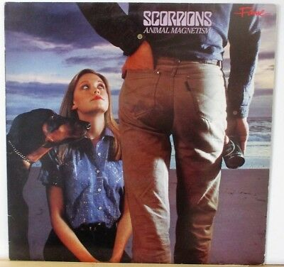 Scorpions ‎– Animal Magnetism LP , REISSUE