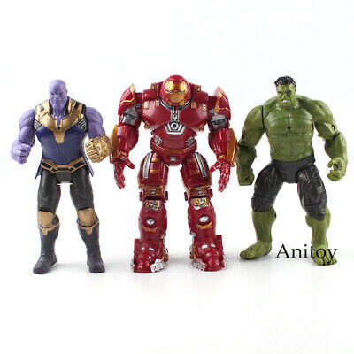 Marvel The Avengers Figure Super Heroes Iron Man Hulk Action Figures Toys 17cm