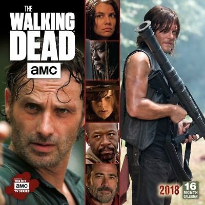 The Walking Dead Oficial 2018 Cuadrado calendario de pared