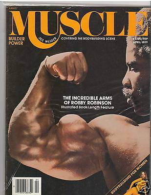 Muscle Builder Bodybuilding musclemag Robby Robinson /Mentzer/ Padilla 4-79