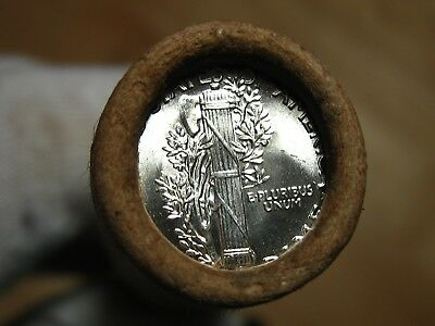 (ONE) FRB Denver Mercury Silver Dime Roll Double S-Mint Ends