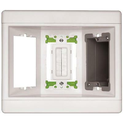 RECESSED ELECTRIC PLUG WALL BOX 3 Gang Safety Electrical Connections Behind Wall