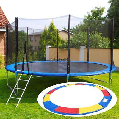 10FT/12FT/14FT/15FT Trampoline Safety Pad Spring Round Frame Cover Replacement