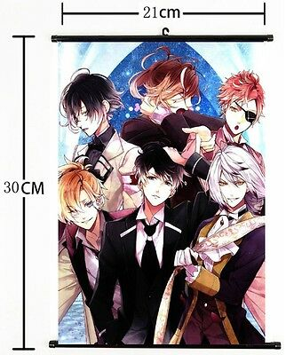 Anime DIABOLIK LOVERS Poster Wall Scroll cosplay 3075