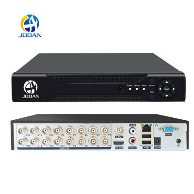 JOOAN XVR 16CH Channel CCTV Video Recorder 1080P Hybrid NVR AHD TVI CVI DVR 5in1