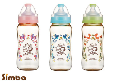 SIMBA DOROTHY WONDERLAND PPSU WIDE NECK FEEDING BOTTLE 200ml/360ml