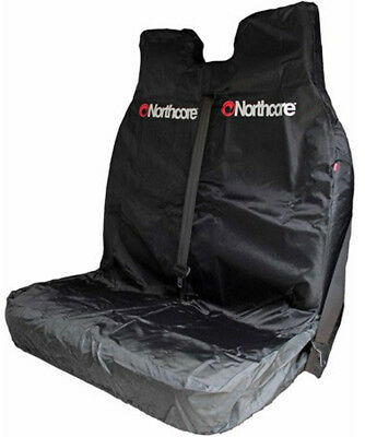 Northcore Double Car Seat Cover in Black