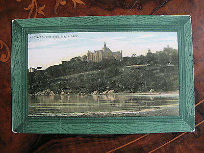 Convent from Rose Bay Sydney NSW Australia