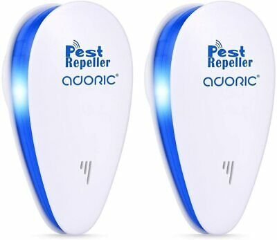 2x STERLING ELECTRONIC PLUG IN PEST CONTROL REPELLER RODENT MOUSE MICE SPIDER