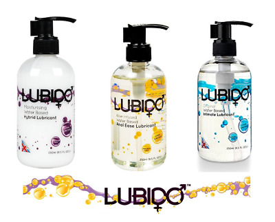 Lubido lube - Anal-Vagina lubricant-water-based-massage gel - sex toy safe