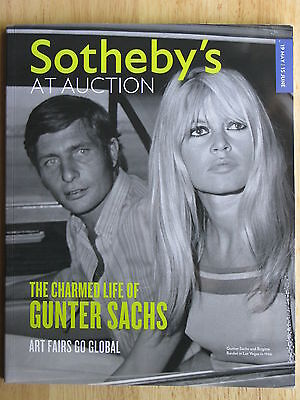 Sotheby's At Auction The Charmed Life of Gunter Sachs Art Fairs Go Global 2012