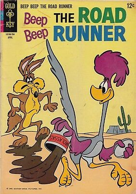 Beep Beep The Road Runner #3 1967 Gd/vg  Silver Age Gold Key