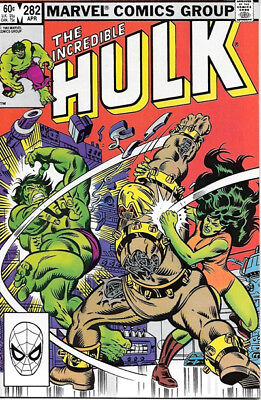 The Incredible Hulk Comic Book #282 Marvel 1983 NEAR MINT NEW UNREAD