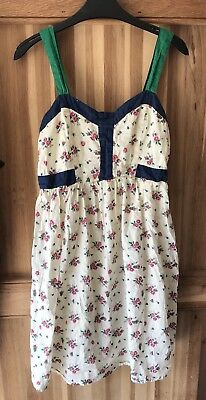 ASOS Pretty Maternity Summer Ditsy Floral dress size 10