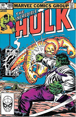 The Incredible Hulk Comic Book #285 Marvel 1983 NEAR MINT NEW UNREAD