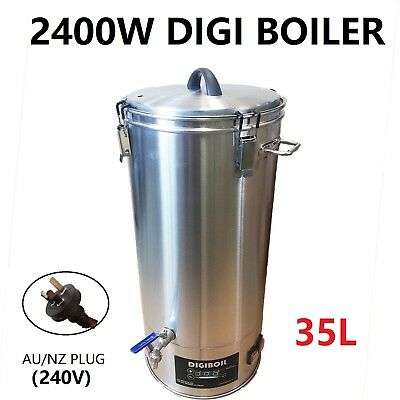 30L/240V/2000W Qality Stainless Steel Turbo Boiler for Home brew Distillery