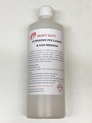 Ultrasonic PCB & Flux Removal Cleaner Super Concentrated 1 Ltr