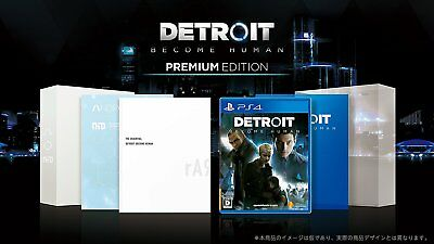 NEW PS4 Detroit: Become Human Premium Edition JAPAN OFFICIAL IMPORT