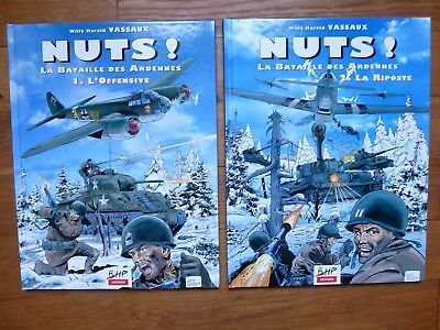 Nuts ! La bataille des Ardennes, 2 tomes, Willy Harold Vassaux, BHP Edition 1998
