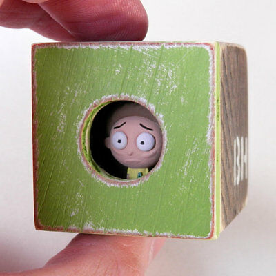 2018 Brad Hill - MORTY - PEEK Figure Sculpture 'Rick and Morty' SOLD OUT! xx/18!