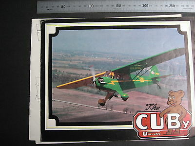 Cuby  Plane BROCHURE Wag Aero COVER DETACHED