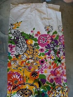 Urban Outfitters Woodland Gardens Fabric Shower Curtain