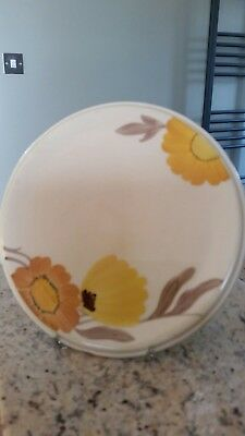 Vintage Early SUSIE COOPER Hand Painted Teapot STAND 16CM
