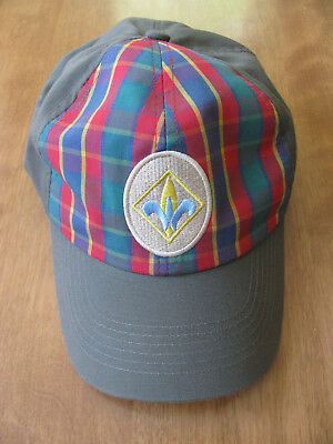 Boy Scouts BSA Webelos Green & Plaid Adjustable Hat (Size: M/L)