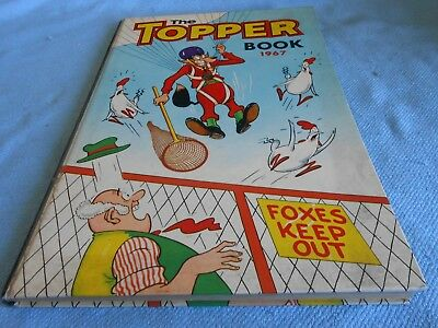 Vintage UK Annual - THE TOPPER BOOK 1967