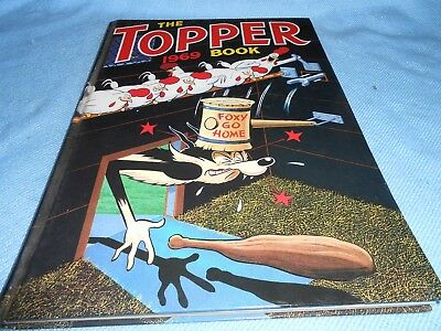 Vintage UK Annual - THE TOPPER BOOK 1969