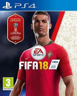 New FIFA 18 PS4 Game Ronaldo Russian world cup Edition
