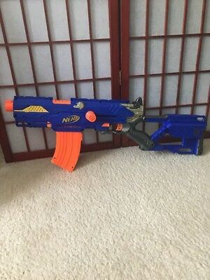 NERF Longstrike CS-6 Sniper Rifle with 10-Dart Curved Magazine and Darts