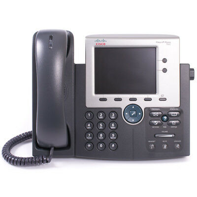 NEW CP-7945G= Unified IP Phone Cisco VOIP 2 Line Gigabit port FREE SHIPPING US