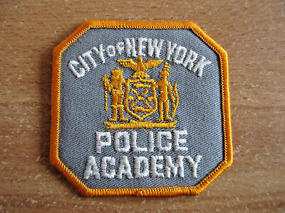 Police, City of New York, Police Academy, Patch, Uniform, Abzeichen, RAR