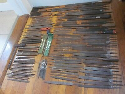 Machinist Toolmaker File Tool Lot 175 Total 24 GROBET See All Pics NICE FreeS&H