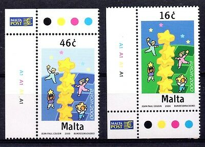 Malta (2345) 2000 Europa set unmounted mint Sg1174-5