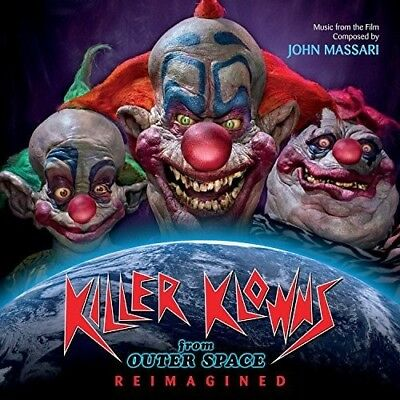 Killer Klowns From Outer Space: Reimagined - John Massari (2018, CD NUOVO)