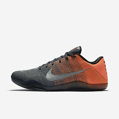 purchase cheap f3f41 f9e8a Nike Kobe 11 XI Elite Low Easter Men s Basketball Shoes - Gray Mango  822675-078