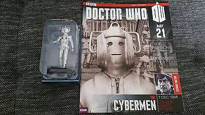 Doctor Who Figurine Collection Issue 21 The Cybermen Eaglemoss