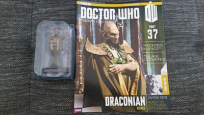 Doctor Who Figurine Collection Issue 37 Draconian Prince Eaglemoss