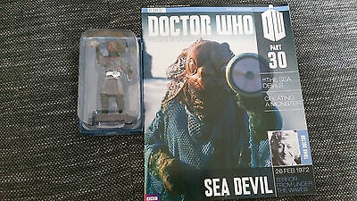 Doctor Who Figurine Collection Issue 30 Sea Devil Eaglemoss