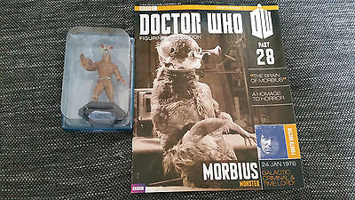 Doctor Who Figurine Collection Issue 28 Morbius Monster Eaglemoss