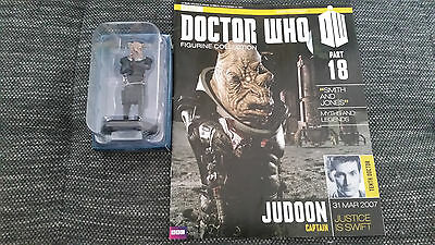 Doctor Who Figurine Collection Issue 18 Judoon Captain Eaglemoss