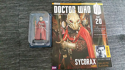 Doctor Who Figurine Collection Issue 20 Sycorax Leader Eaglemoss