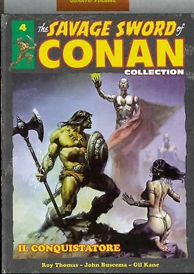 Volume The Savage sword of CONAN COLLECTION HACHETTE number 4