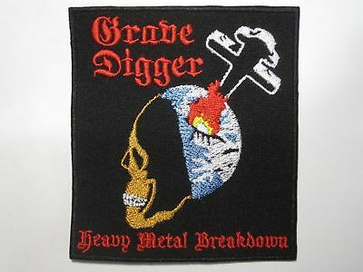 GRAVE DIGGER Heavy Metal Breakdown embroidered NEW patch heavy metal