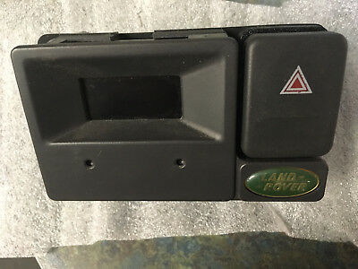 Land Rover Discovery 1 clock + hazard switch YFB100430LNF VDO 993500072