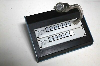 Telex 4001 IFB 4 position control station (x2 in console) with mic
