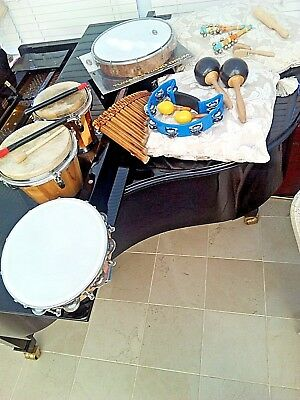 Percussion  Instrument Lot - Ideal For The Family Band Or Party!