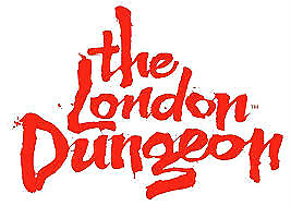 london dungeon 2 tickets 2nd June school holidays